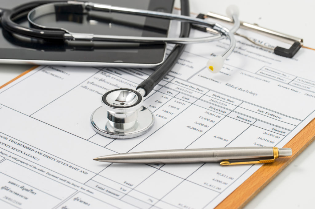 medical charts and forms