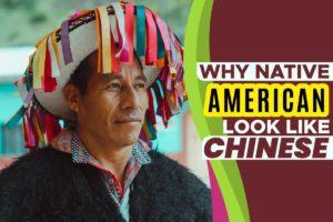 Why Native American Look Like Chinese