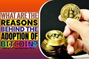 What are the reasons behind the adoption of bitcoin